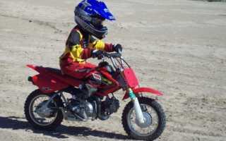 Детский мотоцикл — определение модели