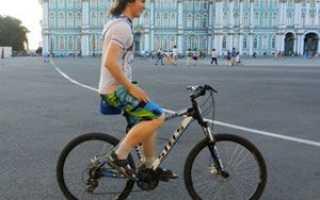 Как ездить на велосипеде без рук (научиться кататься)