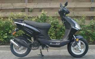 Скутер Baotian e4 BT50Qt-9 — подбор колес