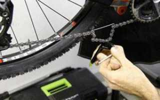 Как правильно снимается цепь с велосипеда