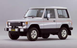 Технические характеристики Мицубиси Паджеро: история развития. История Mitsubishi Pajero (Мицубиси Паджеро) Mitsubishi pajero 1 поколения