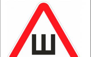 Где наклеить знак. Что означает знак с буквой «Ш» на стекле машины