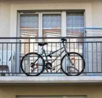 Хранение велосипеда на балконе зимой и летом