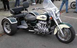 Трехколесный мотоцикл название. Трайк — все, что с ним связано (63 фото)