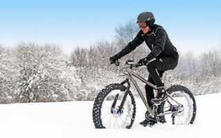 Как зимой кататься на велосипеде, можно ли это делать