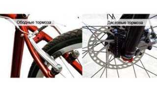 Какие тормоза для велосипеда лучше – дисковые или ободные