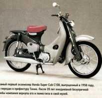 Новый Super Cub 50 от Honda — легенда в новом облике