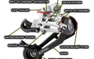 Настройка заднего переключателя велосипеда: видео, причины сбоя