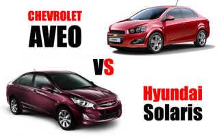 Что лучше солярис или авео. Что лучше Hyundai Solaris или Сhevrolet Aveo. С точки зрения водителя и пассажиров