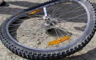 Как выровнять восьмерку на велосипеде (исправить, убрать деформацию)