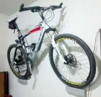 Крепление для велосипеда на стену — видео