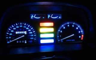 Значение датчиков и лампочек приборной панели Хонда дио 56