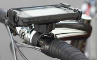 Держатель для Айфона на велосипед, виды креплений для iPhone