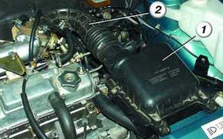 Правильная установка воздушного фильтра ваз 2110 инжектор. Где находится и что представляет собой воздушный фильтрующий элемент