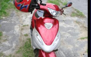 Схема электрооборудования скутера Malaguti F12 Phantom