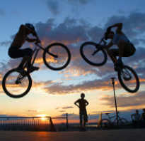 Как прыгать на велосипеде (научиться делать прыжки)