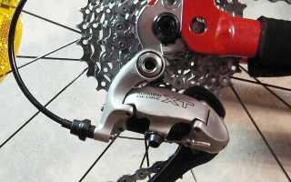 Настройка переключателя скоростей на велосипеде (регулировка и установка)