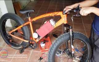 Как сделать электровелосипед из обычного велосипеда: переделка байка