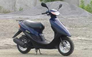 Тепловой прихват на скутере Honda Dio-AF34