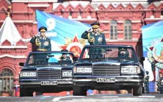 Автомобиль зил для парада победы. История парадных кабриолетов ссср