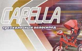Трехколесный велосипед Capella S-511: отзывы, особенности, преимущества