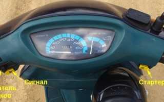 Необходимо идентифицировать скутер Yamaha