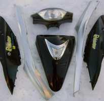 Как клеить пластик китайского скутера?