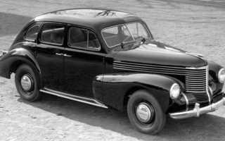 Opel Kapitän — победители и побеждённые. Опель «Олимпия» ОЛ38