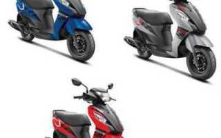 Каталог скутеров Suzuki — все модели с основными данными