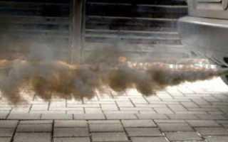 Причины белого дыма на старекс 2.5. Дизель: черный дым из выхлопной трубы. В чем причина и как ее устранить? Белый дым — сигнал серьезной проблемы