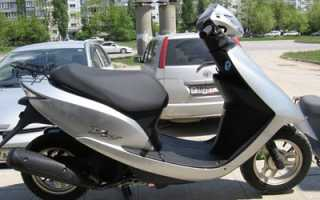 Honda Dio AF 62 — вся информация для владельцев