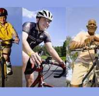 Как можно научиться кататься на велосипеде
