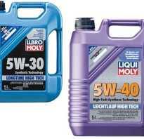Чем отличается моторное масло 5w40 от 5w30.