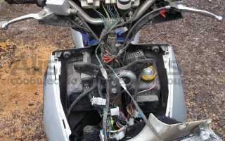 Ремонт электропроводки скутера