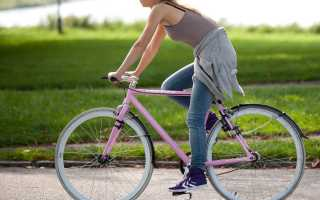 Можно ли при варикозе ездить на велосипеде (много кататься)