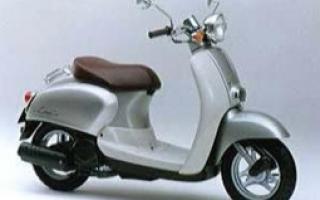 Сигнализация и Honda giorno crea af54