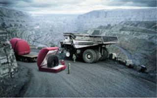 Восстановление ремонт шин карьерной техники. Диапазон ремонтируемых крупногабаритных шин