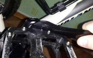 Как снять педали с велосипеда, разобрать и поменять на новые?