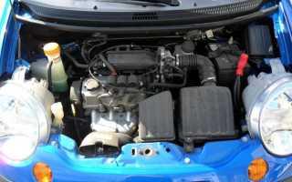 Сколько лошадиных сил в део матизе. Двигатель F8CV на автомобиле Daewoo Matiz