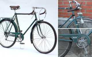 Советские велосипеды (времен СССР): старые шоссейные марки