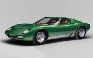 Lamborghini miura описание. История Lamborghini Miura