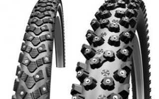 Зимние покрышки (шины) для велосипеда: особенности этих велопокрышек