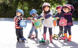 Самокат для ребенка 2 лет: как выбрать трехколесную модель, на что обращать внимание, правила безопасности