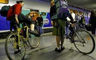 Можно ли провозить велосипед в электричке (стоимость провоза)