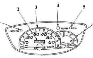 Honda Tact AF 79 (75) обслуживание, эксплуатация