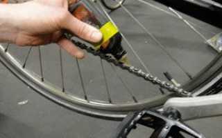 Чем смазать цепь велосипеда в домашних условиях: тефлоновая смазка, масло