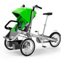 Велосипед для мамы с ребенком (с креслом для перевозки детей)