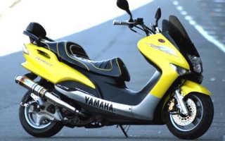 Презентация скутера Yamaha MAXAM CP250 — очередной диван 2012 года