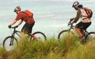 Спуск с горы на велосипеде: как выполняется, правильная посадка