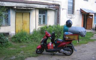 Наши путешествия на скутерах